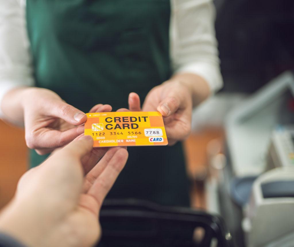 クレジットカード 店舗