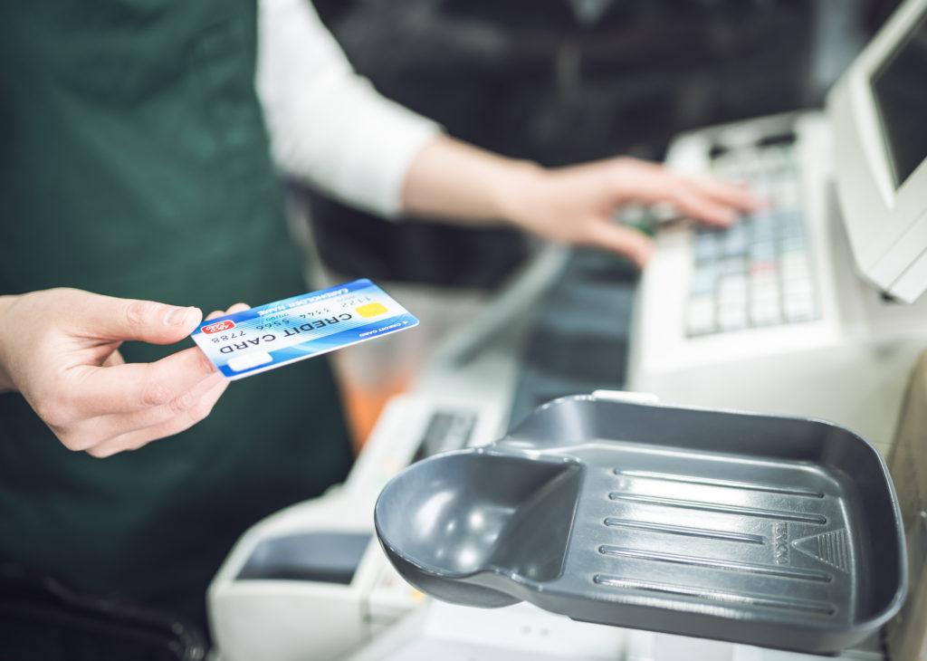クレジットカード レジ 支払い