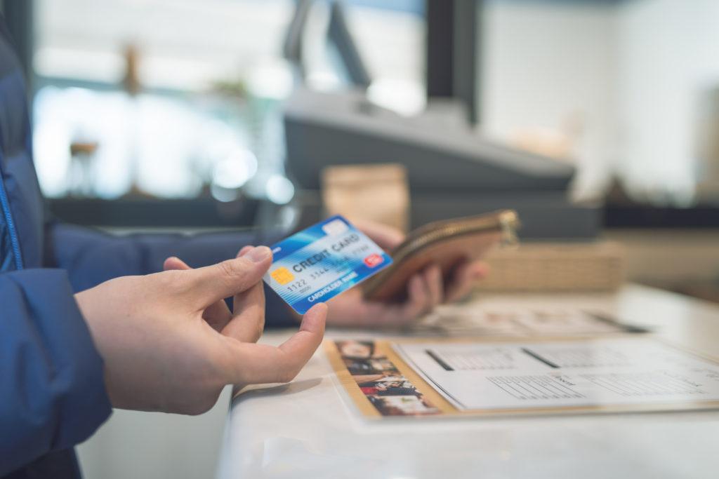 クレジットカード 支払い