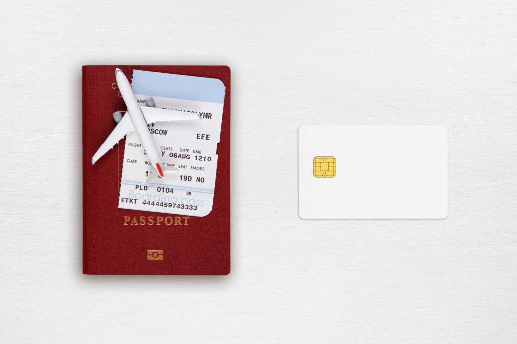 パスポート 航空券 クレジットカード