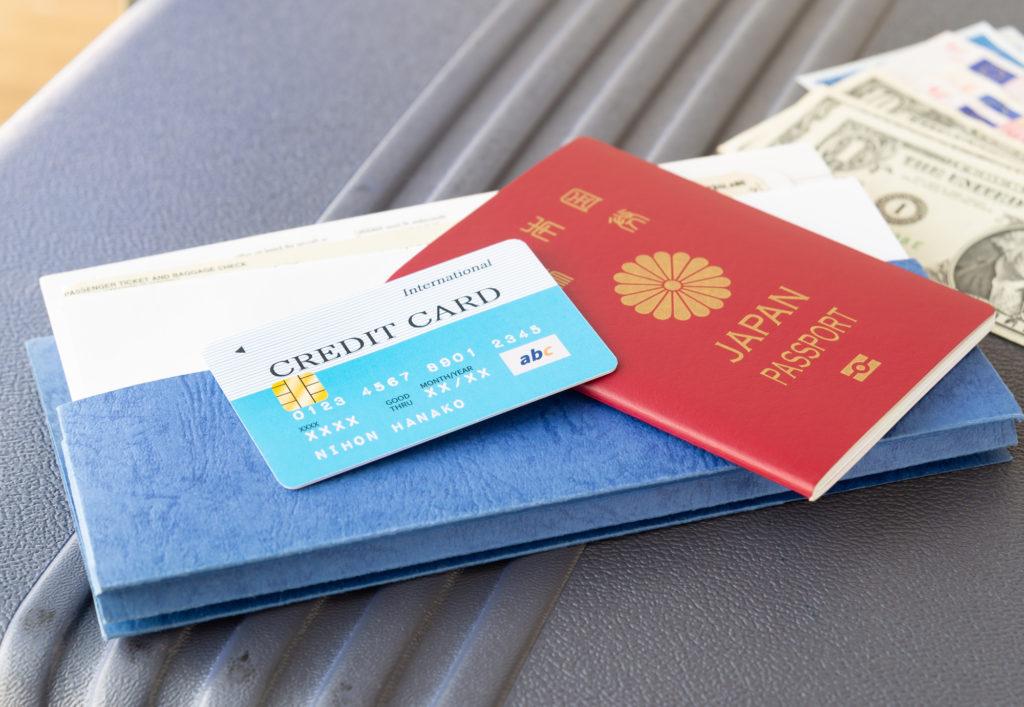 航空券 クレジットカード パスポート