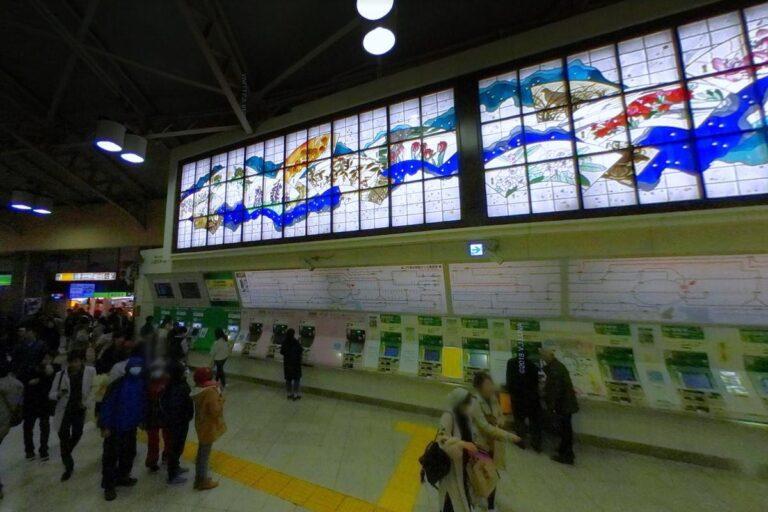 上野駅券売機